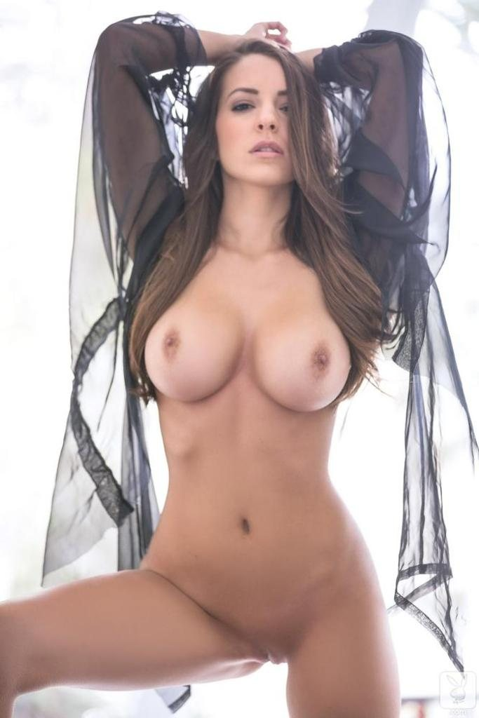 Shelby Chesnes Nude @ Playboy – Young Busty Brunette