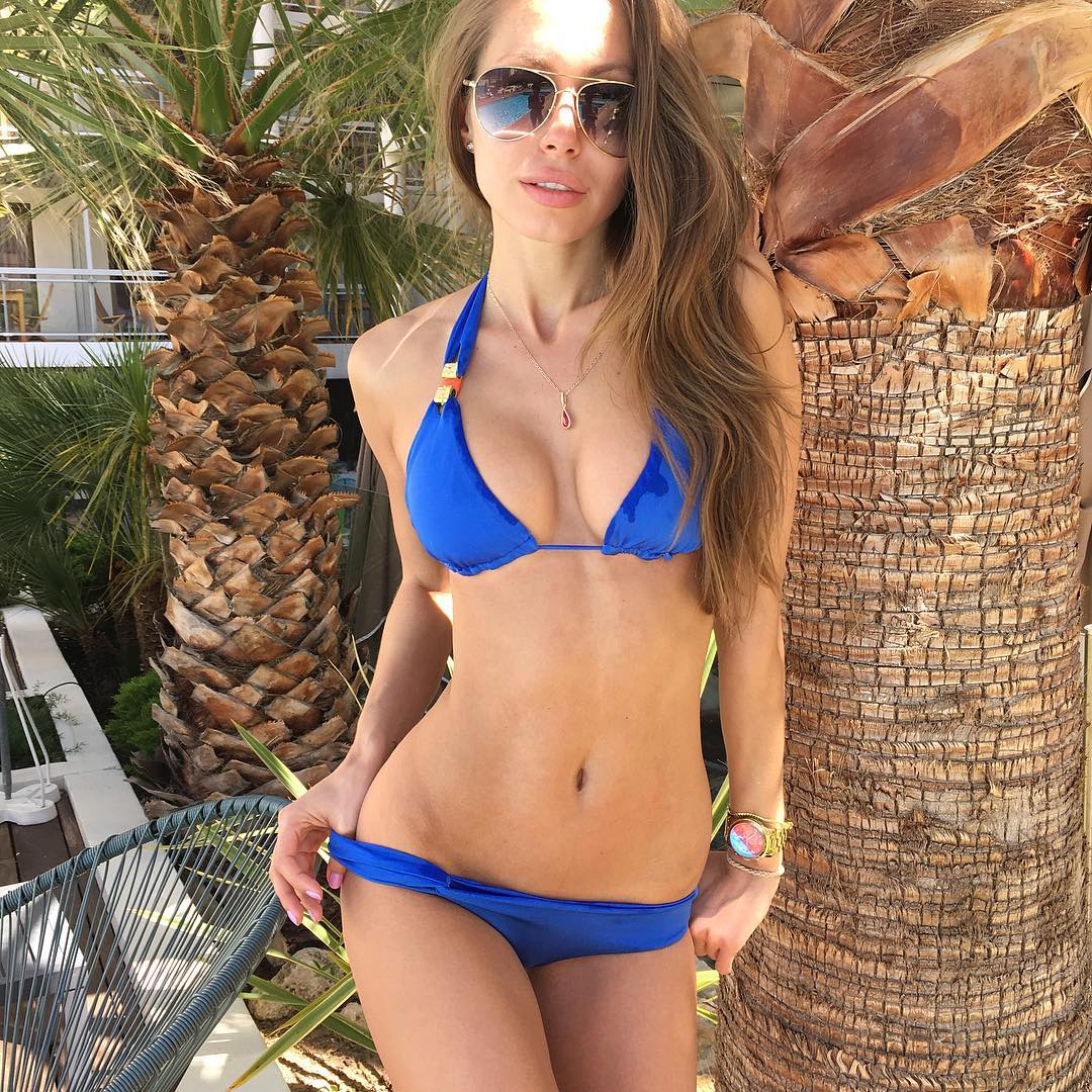 Galinka Mirgaeva Wild Sexy Bikini Picture and Photo