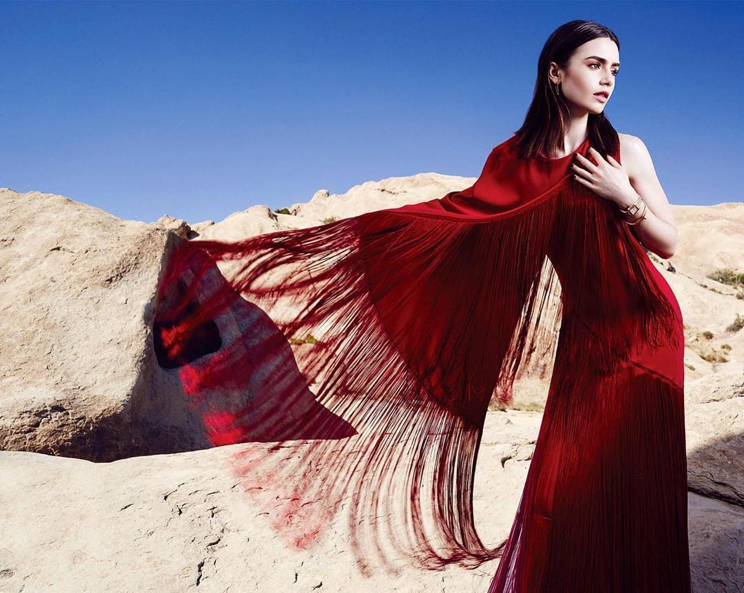 Lily Collins Lovely Lovely Picture and Photo