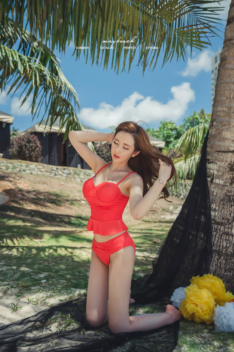 Lee Yeon Jeong 2017 MayBeach Bikini Pictures Series 1