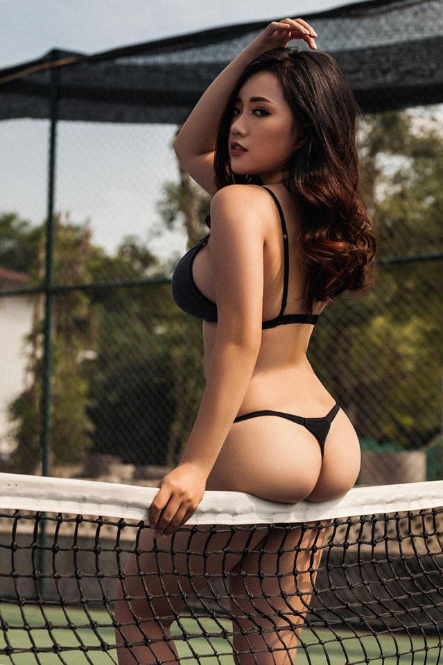 Nguyen Nhu Quynh Big Booty Sexy Bra Picture and Photo