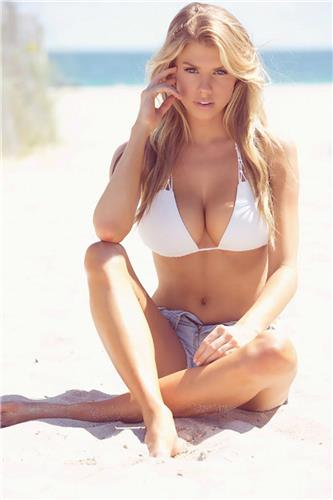Charlotte Mckinney Big Boobs Bikini Picture and Photo