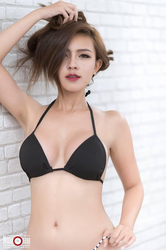 Parida Kumsopa Big Boobs Bra Sport Picture and Photo