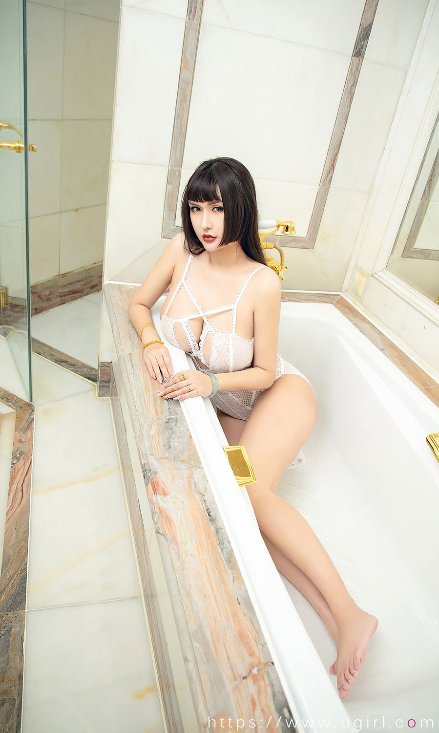 [Ugirls App] Vol.1873 Bath Fire Queen