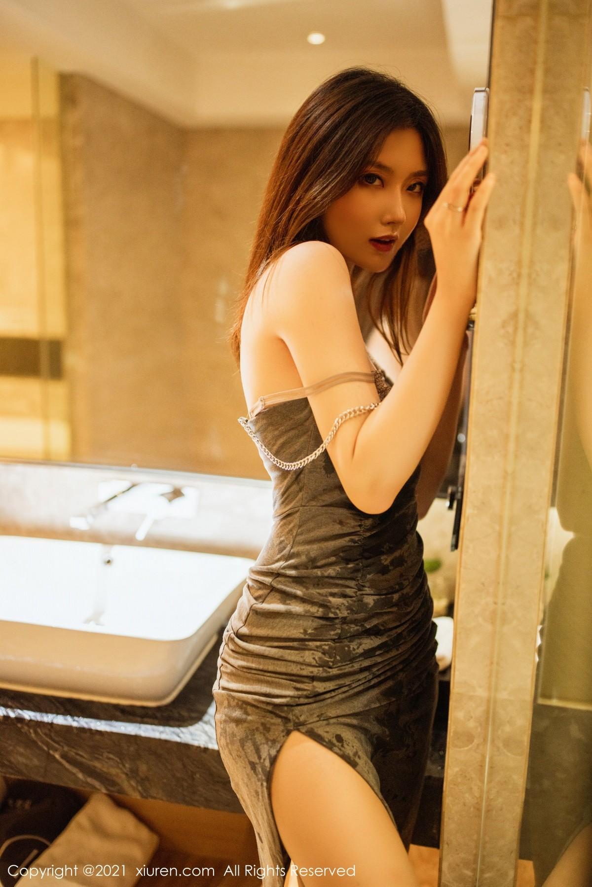 XiuRen No.3845 刘艾琳